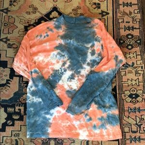 FP oversized tie dye long sleeve